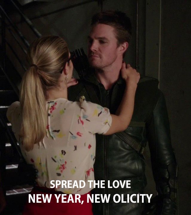Arrow - Felicity & Oliver #Olicity