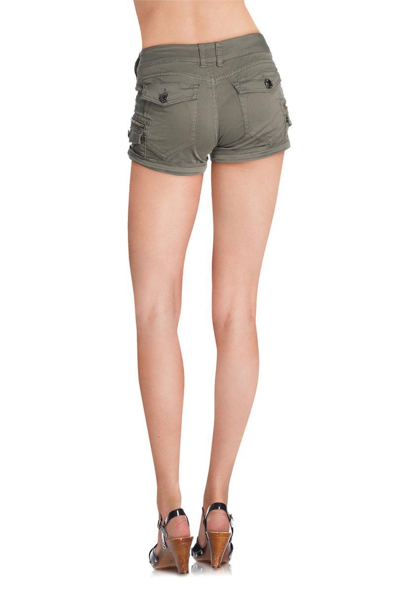 9903bd068 Vente Lois & Bendorff / 11786 / Lois / Shorts Femme / Short Kaki ...