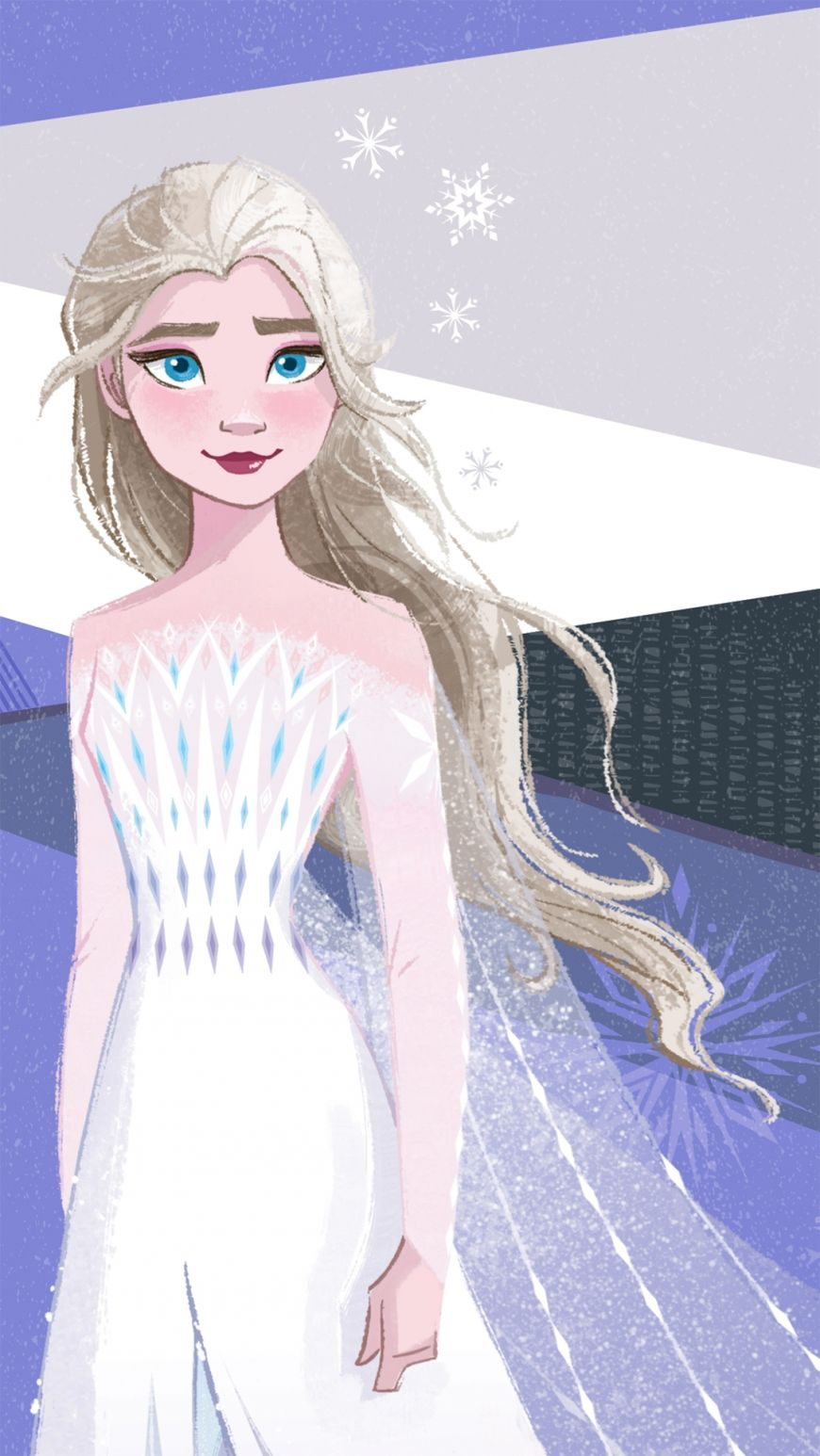 Frozen 2 Hd Mobile Wallpaper Elsa White Dress In 2020 Frozen 2 Wallpaper Disney Elsa Disney Frozen Elsa