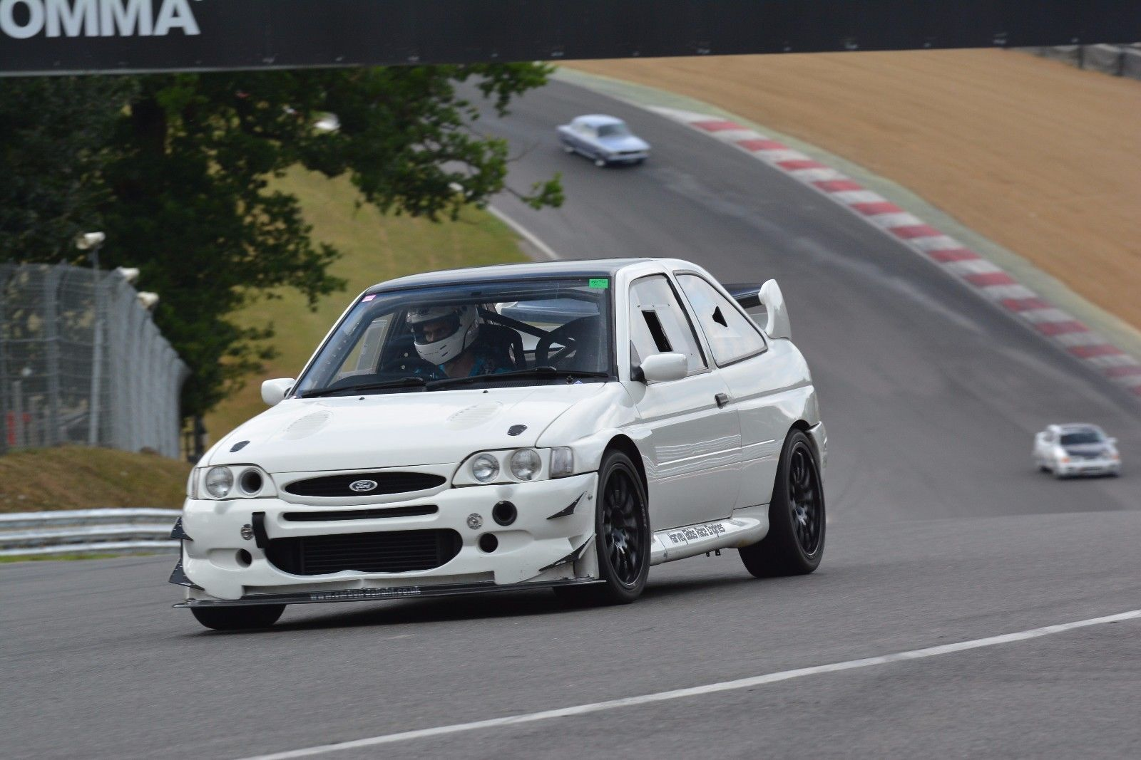 We found this escort cosworth ex time attack track car on eBay ...