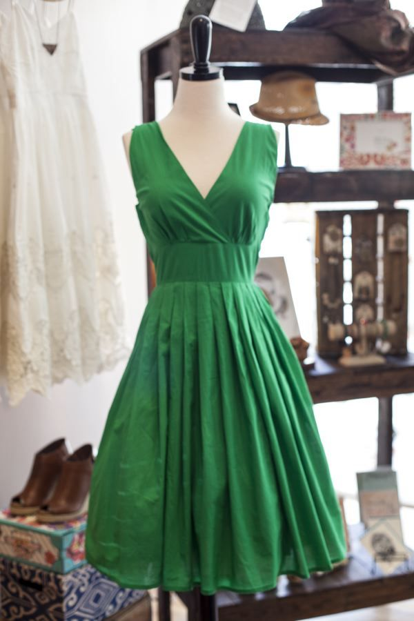 3896da39e60 Derby dresses under  100  Green dress from Pink Door Boutique