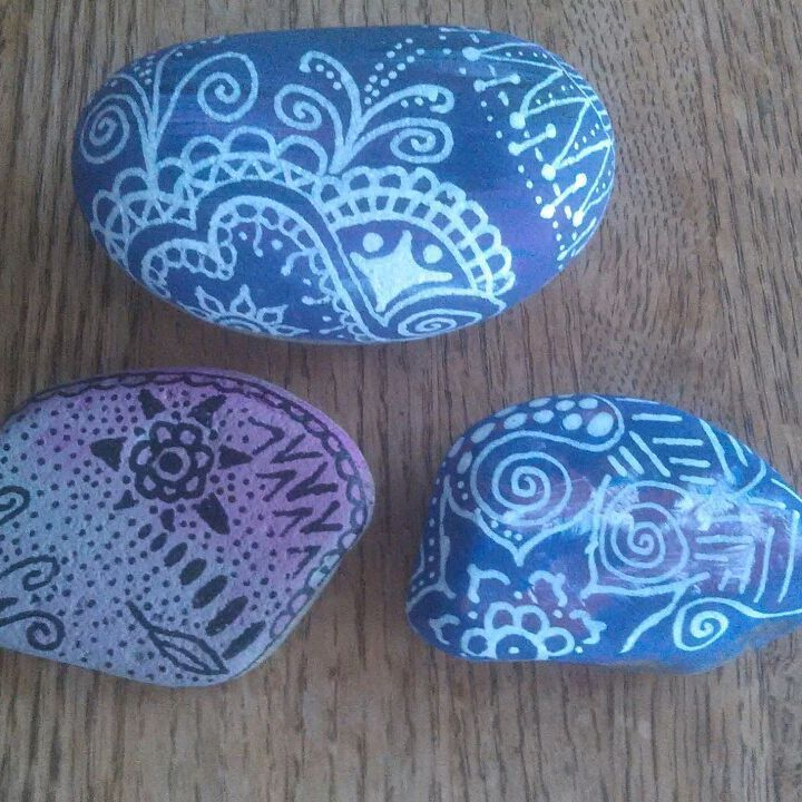 30 Easy Rock Painting Ideas For Inspiration