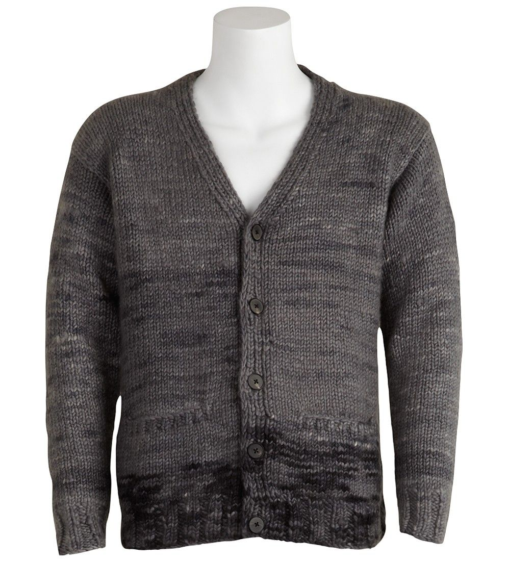 Button Cardigan Raif heavy weight cashmere cardigan. This ...