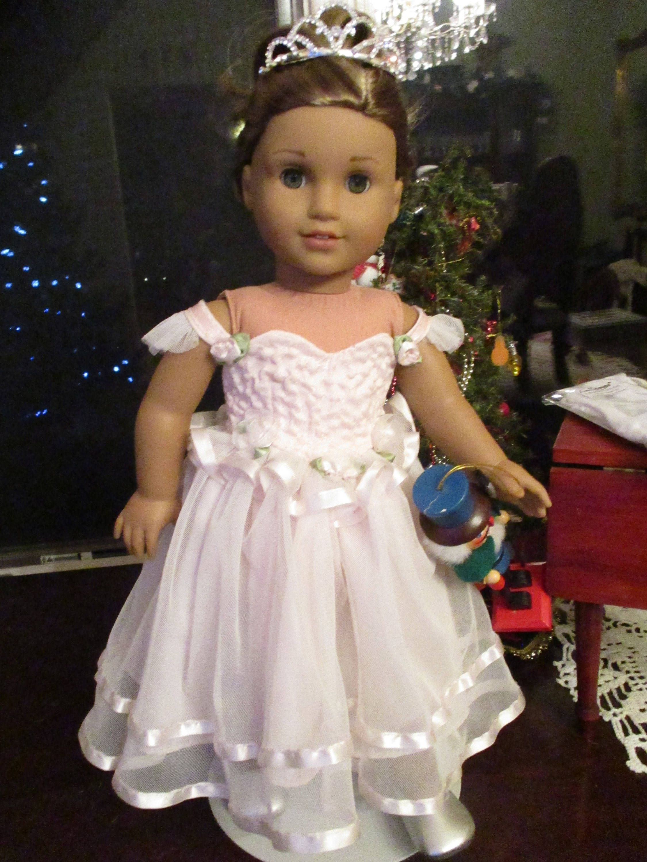 Sugar Plum Fairy Pink Ballet Doll Dress to fit your 18\