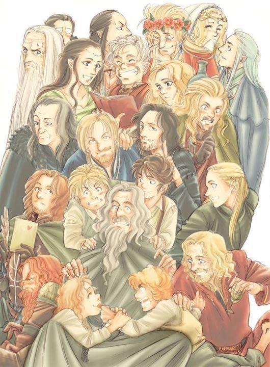 Anime Lotr Hobbit Art Lotr Lord Of The Rings