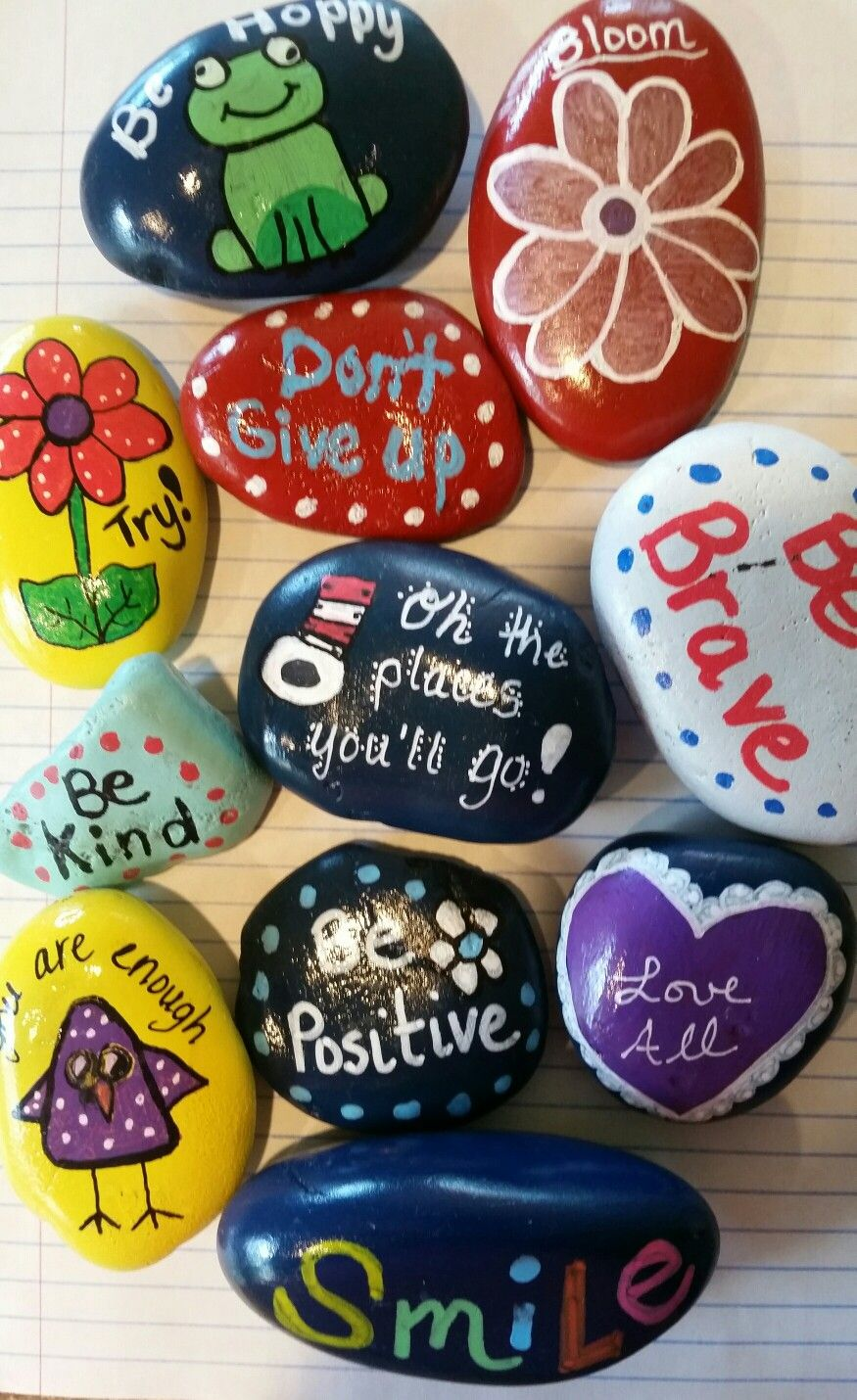 Positive rocks from Billie Park (With images) | Rock crafts ...