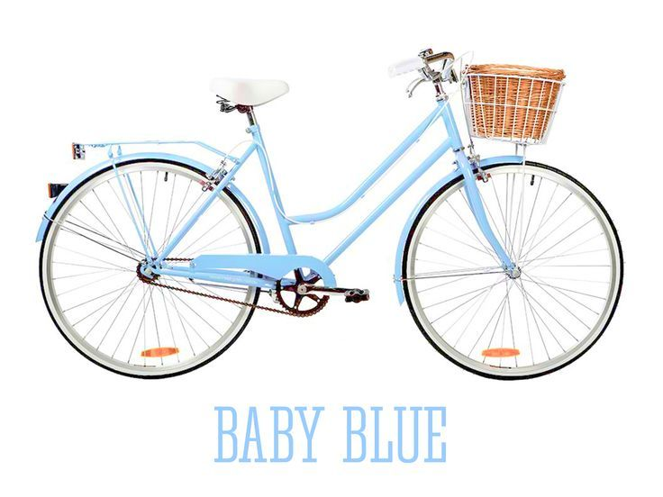 I Think I Am Going To Paint My Old Red Vintage Bike This Baby Blue