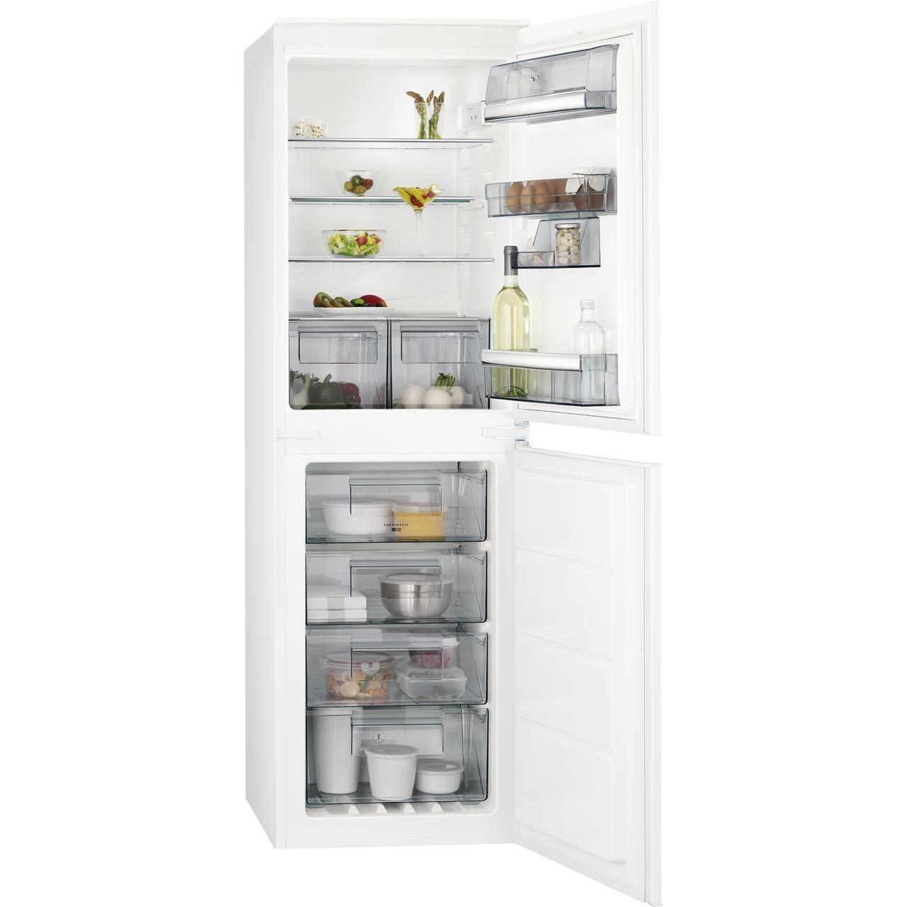 AEG SCS6181LNS Integrated 50/50 Frost Free Fridge Freezer with ...