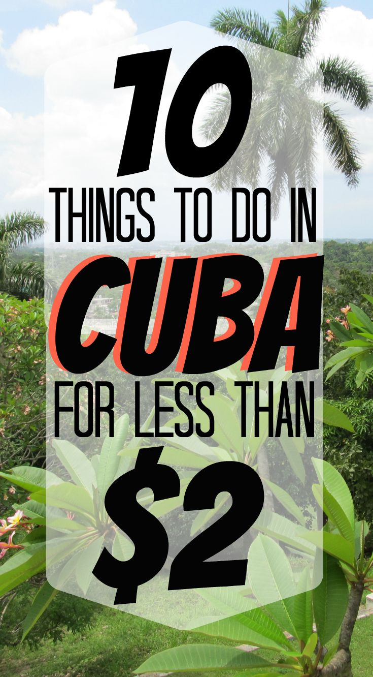 10 Free & Cheap Havana, Cuba Attractions – the xenophile life