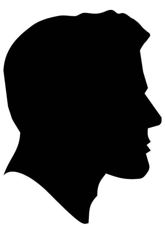 ae31178937de Dibujo para colorear hombre. Ilustración - Imágenes para escuelas y  educación  hombre - Img 23033.