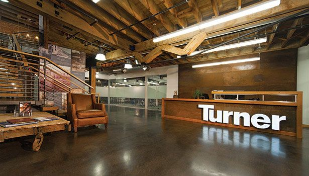 Turner Construction Co Headquarters With Vrf System Construction Company Construction Office Space Corporate