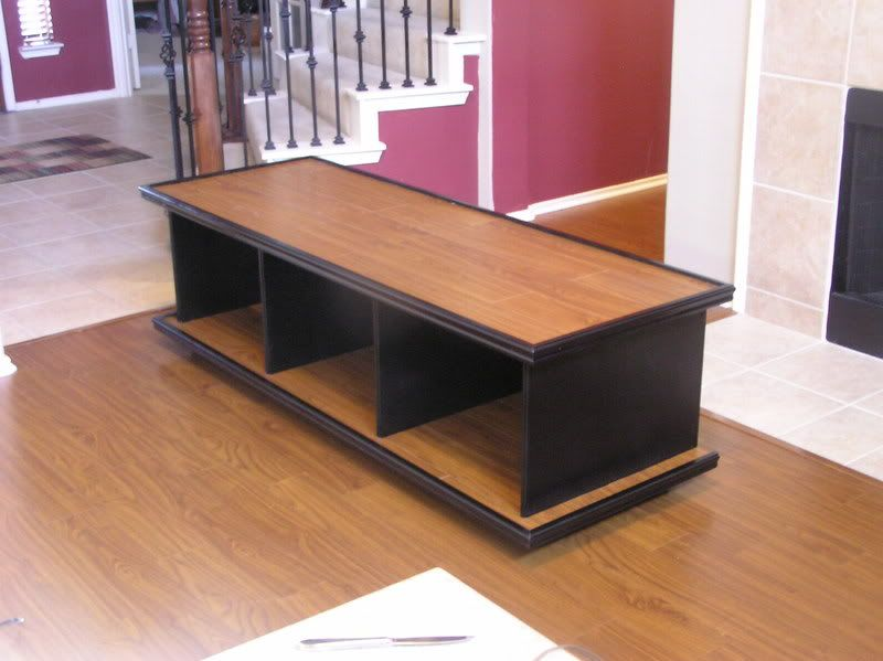 TV STAND BUILDING PLANS - Floor Plans