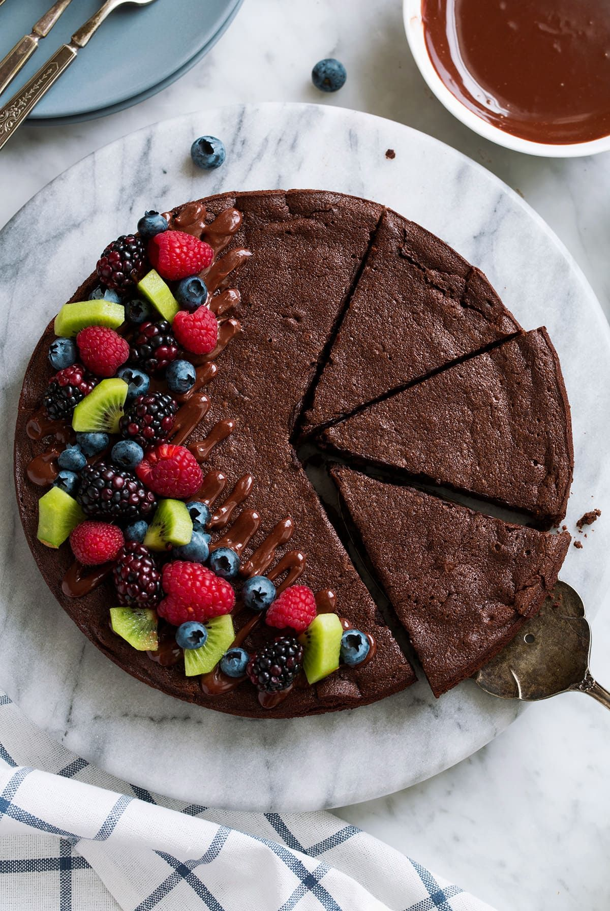 Flourless Chocolate Cake - Cooking Classy (With images ...