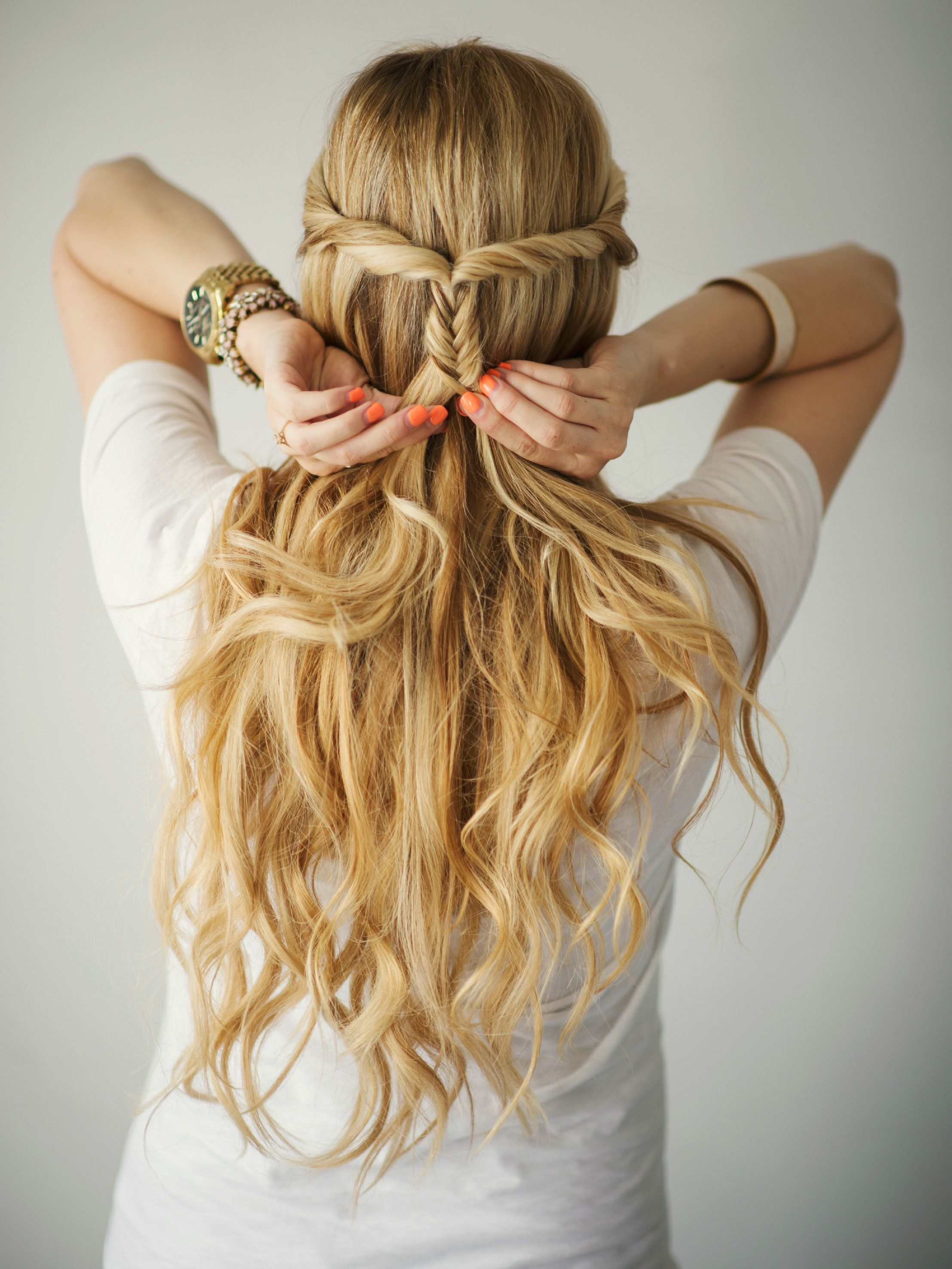 Barefoot blonde braid fishtail style pinterest fresh amber