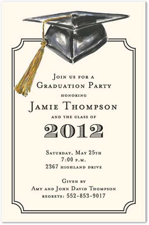 Great Grad Party Invites Andreas Graduation Pinterest Grad - Party invitation template: grad party invites templates