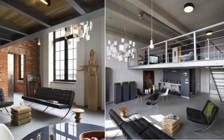 Modern Industrial Loft In Poland Interior Design Inspirations
