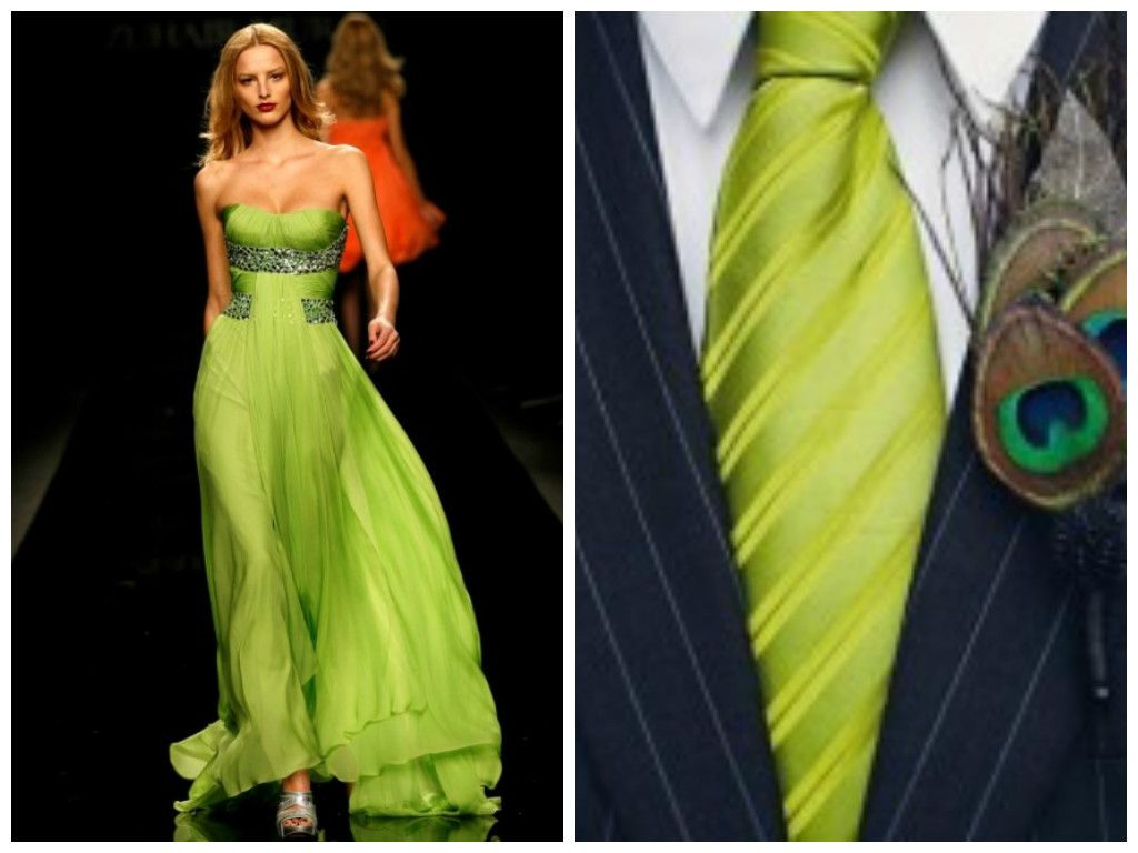 Chartreuse Color Dresses