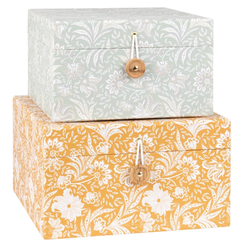 Boites Et Coffrets De Rangement Boite En Carton Boites De Rangement Decoratives Boite