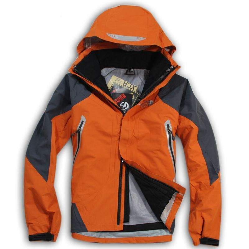 cheap The North Face Men's Orange Nimble Gore Tex Jacket · 3 In 1 ...