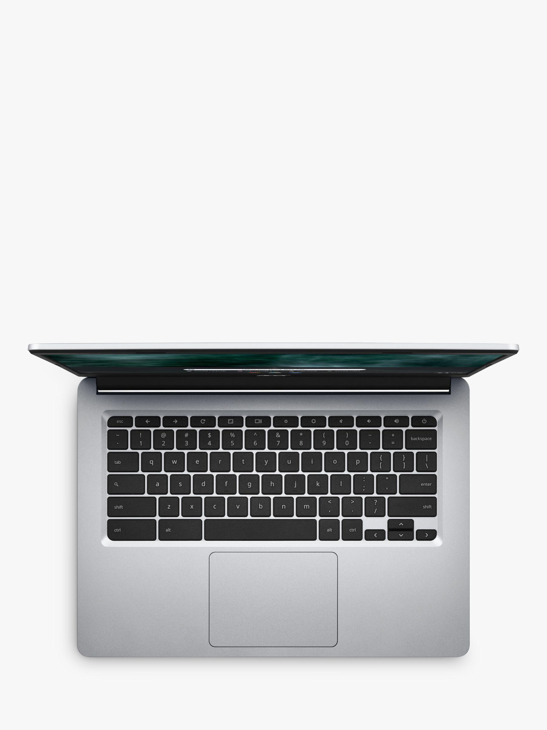 Acer 314 Chromebook Laptop, Intel Celeron Processor, 4GB RAM, 32GB eMMC, 14, Pure Silver