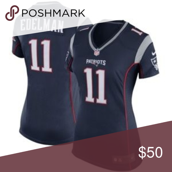 Women S New England Patriots Julian Edelman Jersey Attention Please All Items Will Delivered In 8 15days All I Edelman Jersey Patriots Julian Edelman Edelman