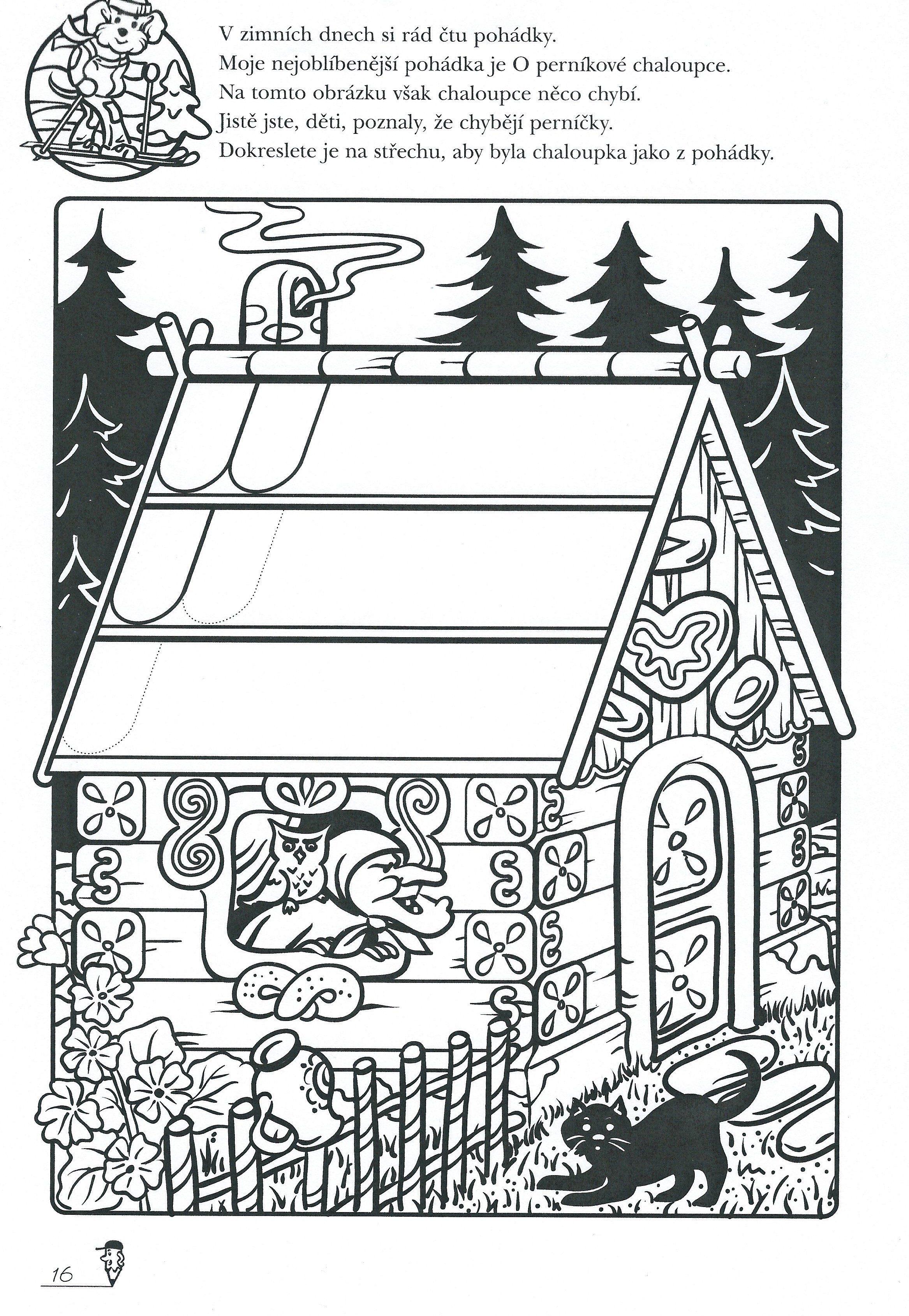 Pernikova Chaloupka Jpg 2 334 3 381 Pixelu Fairy Tales Nursery Rhymes Class Activities