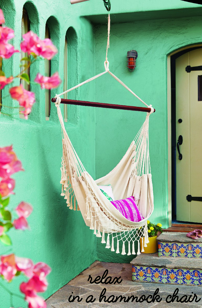 Make your outdoor space as cozy and inviting as can be with the