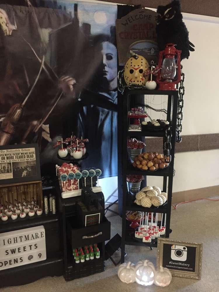 80's Horror Movies Halloween Party Ideas Halloween