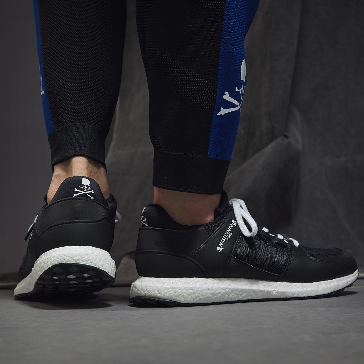 Adidas x Mastermind World EQT Support ultra blanco / negro para hombres