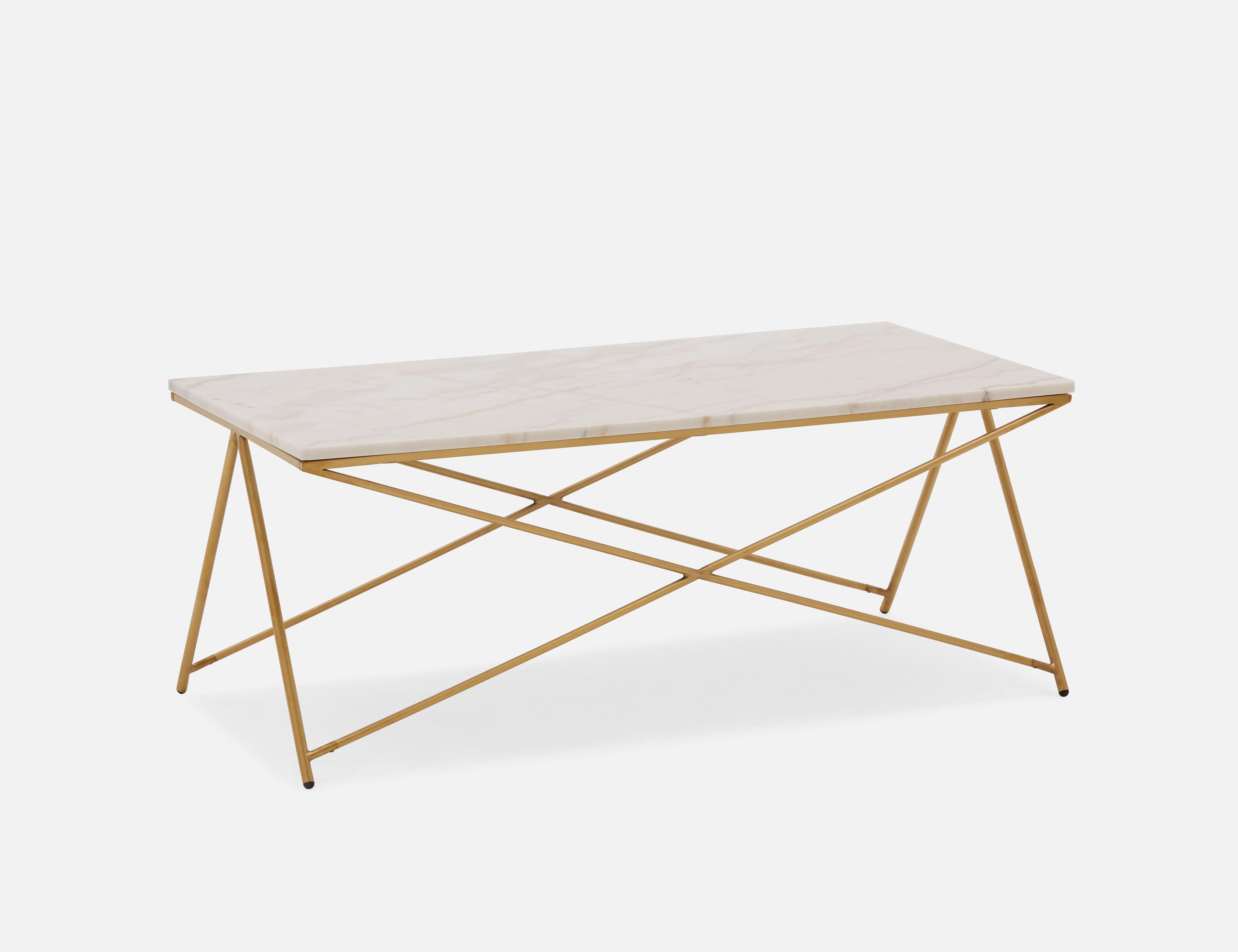 Structube Almond Marble Coffee Table 120cm Etta Coffee Table Marble Coffee Table Marble End Tables [ 3840 x 4992 Pixel ]