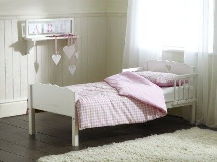Saplings Heart Junior Bed (White) | Pops room ideas | Pinterest ...