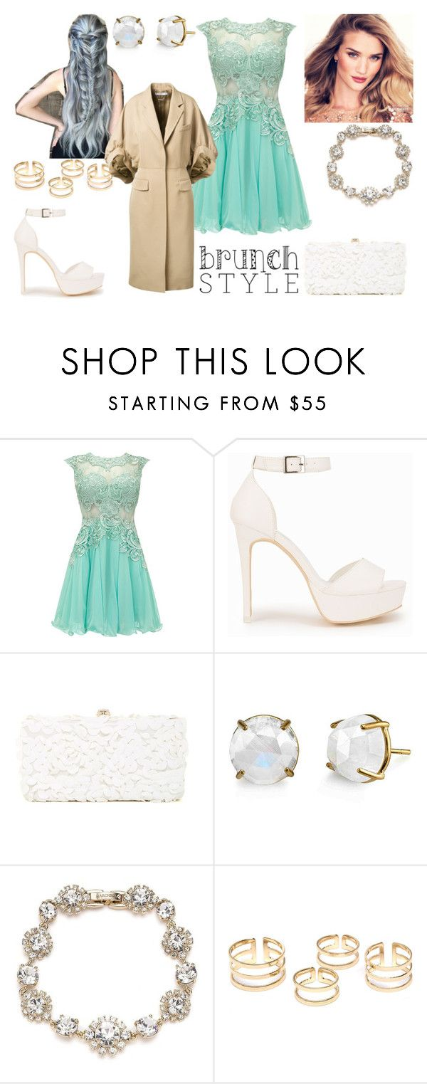 """""""Brunch Style"""" by vanessa-joynelly on Polyvore featuring moda, Nly Shoes, Deux Lux, Irene Neuwirth, Marchesa e Givenchy"""
