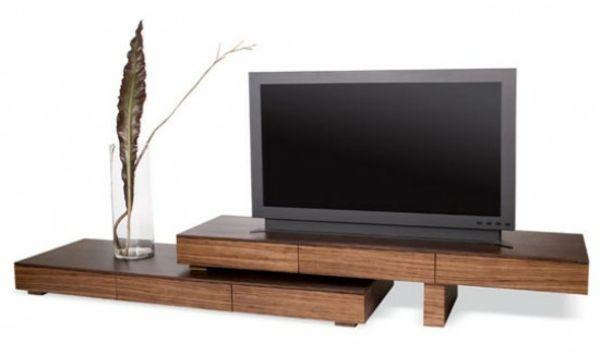 étonnant petit meuble tv bois Décoration fran§aise