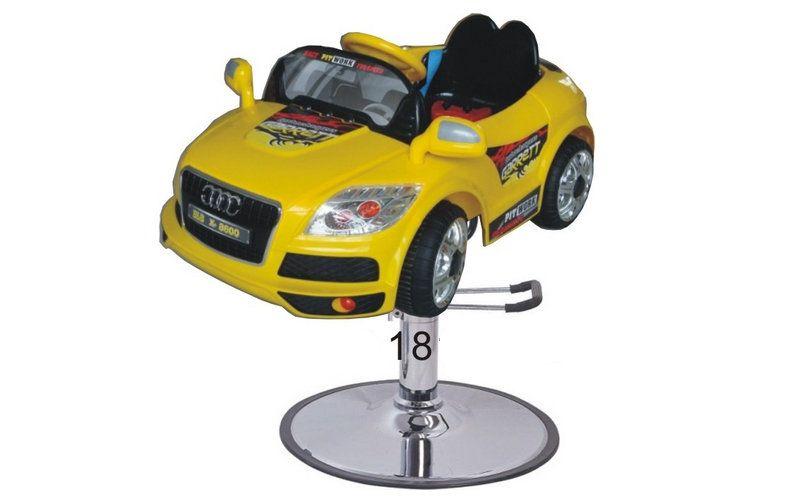 Lcl Salon Cartoon Kids Toy Barber Chair Children Hairdressing Car