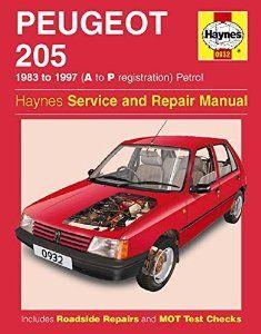 peugeot 205 haynes repair manual 1983 97 80s cars pinterest rh pinterest com Haynes Car Manual 2005 WRX Haynes Car Manuals Spreads