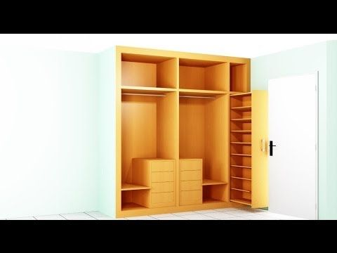Closet con mueble para tv multi muebles pinterest for Muebles gimenez plasencia