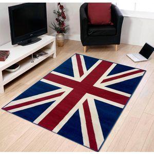 tapis union jack uk drapeau anglais 120x170 top promo. Black Bedroom Furniture Sets. Home Design Ideas
