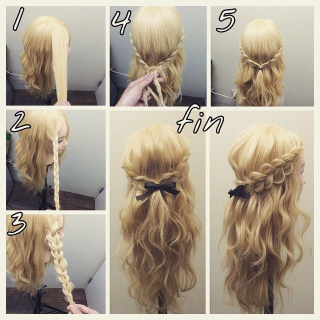 Instagramで話題 美容師に学ぶ簡単可愛いヘアアレンジ 簡単ヘア