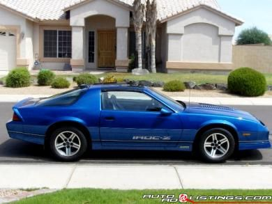 1986 Camaro Iroc Z28 Bought One Just Like This Same Color And