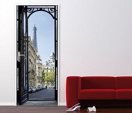 Vinilo Para Puerta Paris Leroy Merlin Vinilos Para Puertas Puertas Vinilos