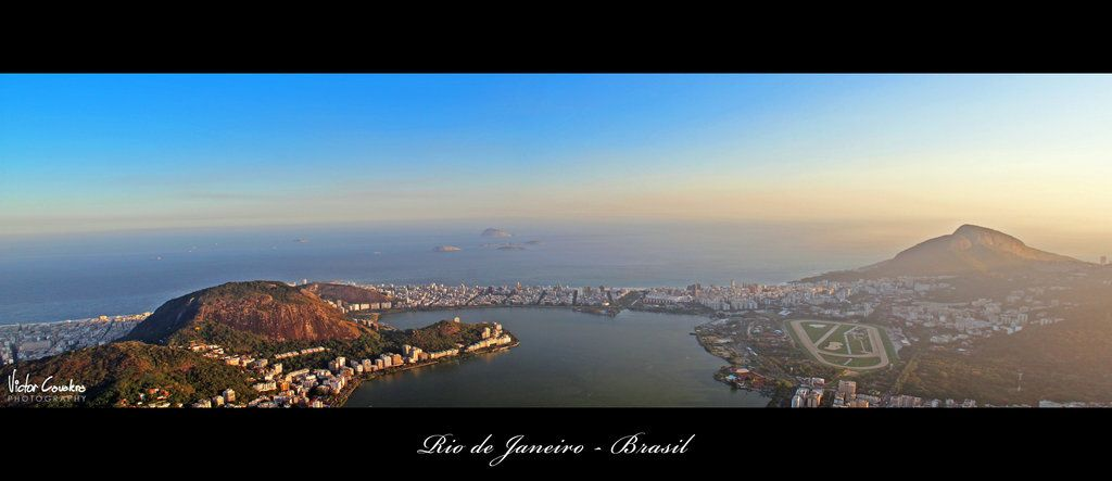 Rio de Janeiro - View from Corcovado by ~byCavalera on deviantART
