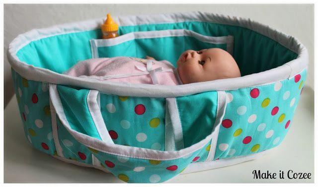 Puppen Bett nähen, Puppen Trage | Puppen Kleidung & Accessoires ...
