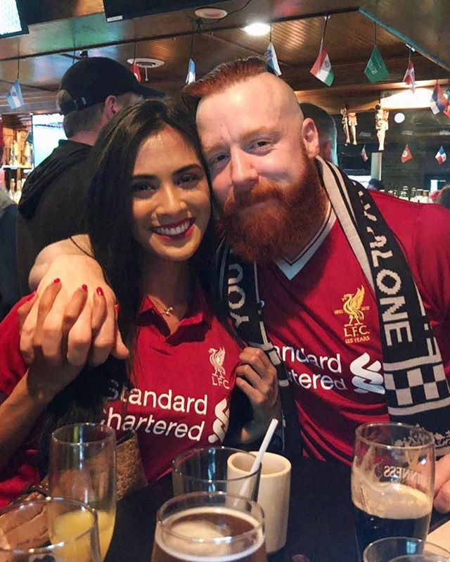 Our Liverpool Loving Family Has Grown Quite A Bit Since Last Year S Uclfinal Hopefully That Means Extra Luc In 2021 Wwe Couples Liverpool Liverpool Football Club
