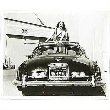 1965 Jaguar Once Owned By Yvonne De Carlo Who Played Lily