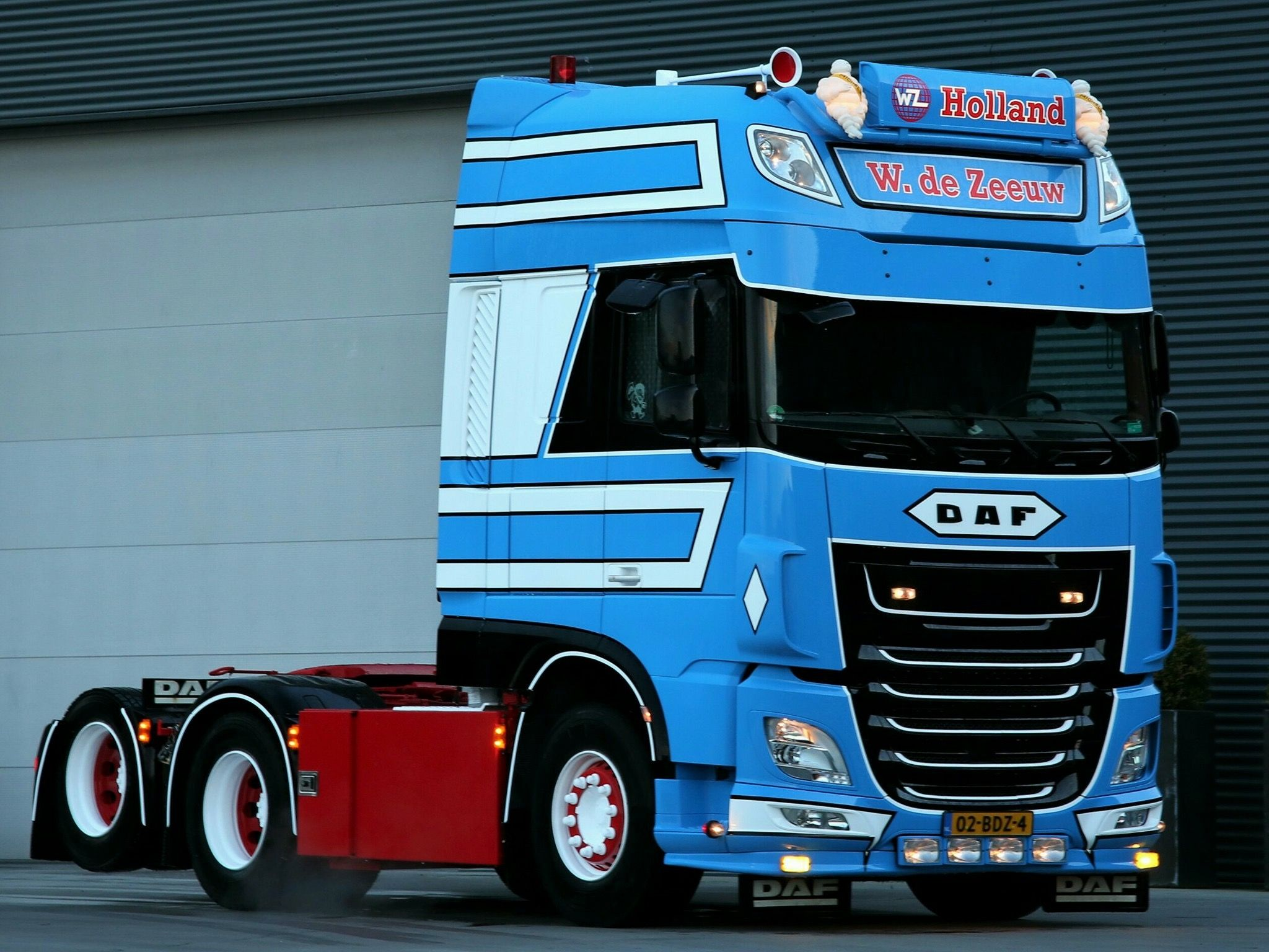 daf xf 106 510 super space cab 6x2 losse trekkers. Black Bedroom Furniture Sets. Home Design Ideas