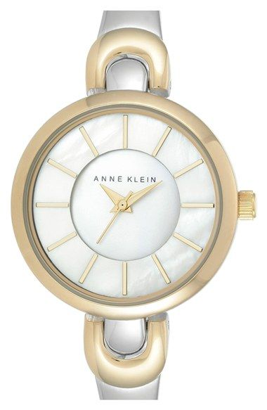 Anne Klein Round Bangle Watch, 30mm