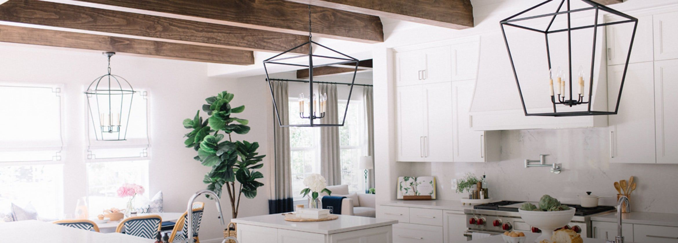 Cage Pendant Lights Banner 1170x420 Kitchens Interior Design