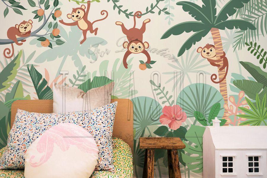 ورق حائط اطفال مودرن 2020 Tanasuq شركة تناسق للديكور Home Decor Decals Kid Room Decor Decor