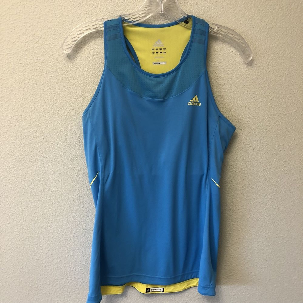 Adidas Supernova Womens Running Vest Tank Top Black   eBay
