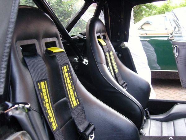 Mg midget seat